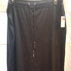 Drawstring long Skirt